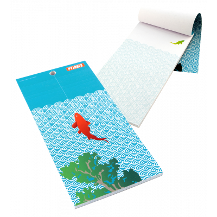 Magnetic memo block - Notebook Formalist - Exotic