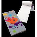 Magnetic memo block - Notebook Formalist Paris rose