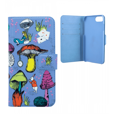 Flap cover/wallet case for iPhone 6, 6S, 7 - Iwallet 2