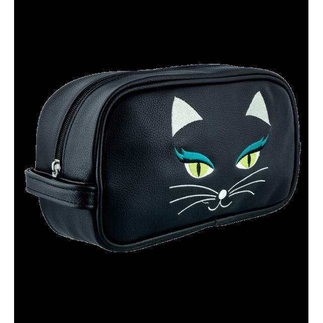 Toiletry case - Brody Black Cat
