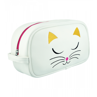 Toiletry case - Brody - White Cat
