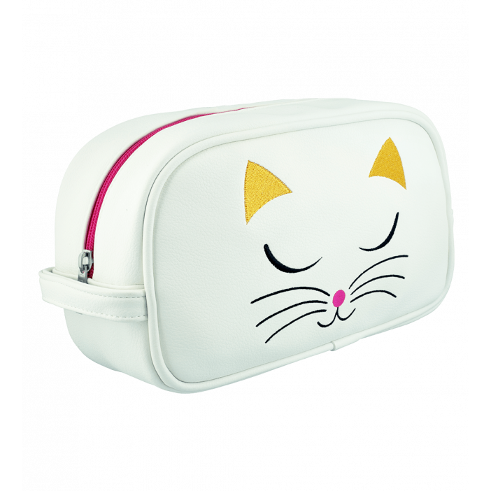 Toiletry case - Brody White Cat