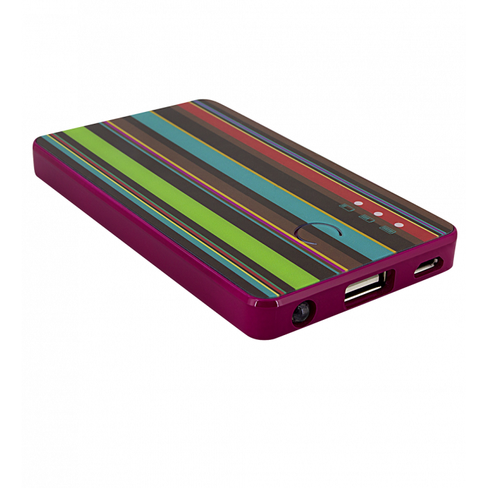 Portable battery - Get The Power 2800mAh Bayadere