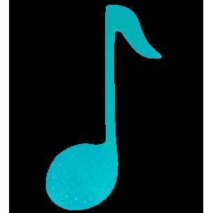 Infuseur à thé - Music T - Turquoise