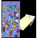 Bloc note magnétique - Carnet Formalist Accordeon
