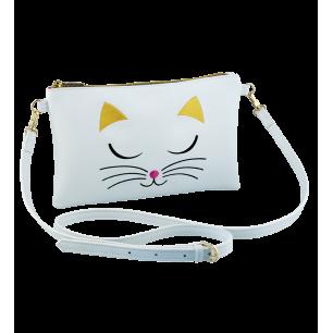 Pochette bandoulière - Brody - White Cat