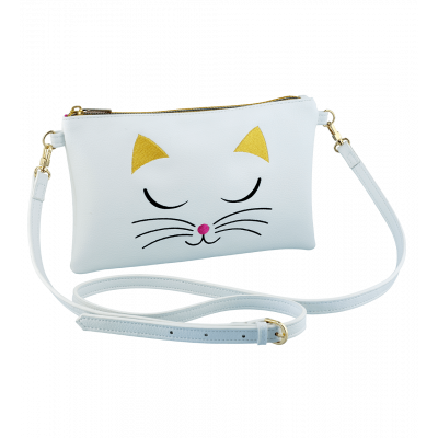 Small shoulder bag - Brody - White Cat