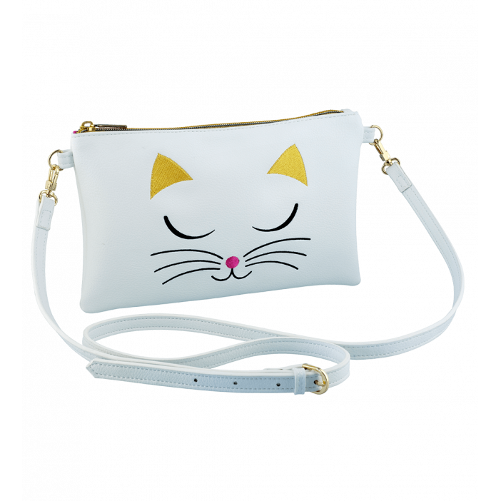 Small shoulder bag - Brody White Cat