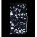 Klappdeckel für iPhone 6, 6S, 7 - Iwallet2 Skull 3