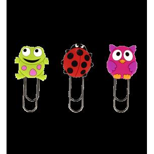 Segnapagina modello piccolo - Ani-bookmark - Garden Trio