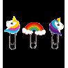 Small bookmark - Bookmark Licorne Trio