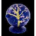 Zuckerdose - Sugar Pot Orchid Blue