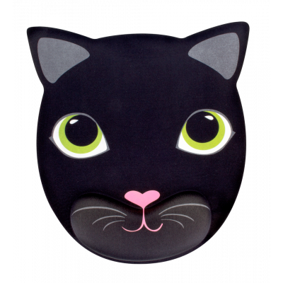 Mouse pad with wrist support - Cat