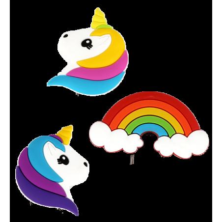 Set de 3 aimants - Happy Licorne