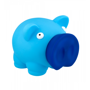 Sparbüchse - Piggy Bank - Blau
