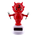 Solar powered dancing figurines - 1-2-3 Soleil Chef