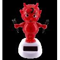 Solar powered dancing figurines - 1-2-3 Soleil Snowman