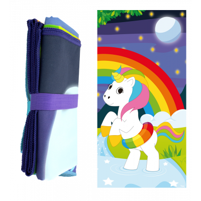 Serviette microfibre - Body DS - Licorne