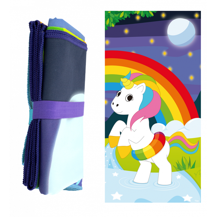 Microfibre towel - Body DS Unicorn