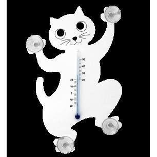 Termometro - Thermo - Gatto bianco