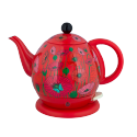 Electric kettle with UK plug - Byzance Coquelicots