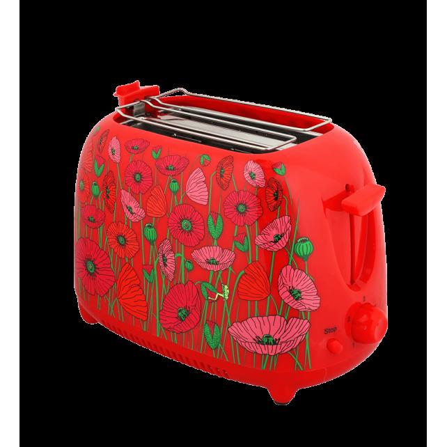 Toaster mit englischem Stecker - Tart'in UK Coquelicots