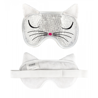 Schlafmaske - My pearls - White Cat