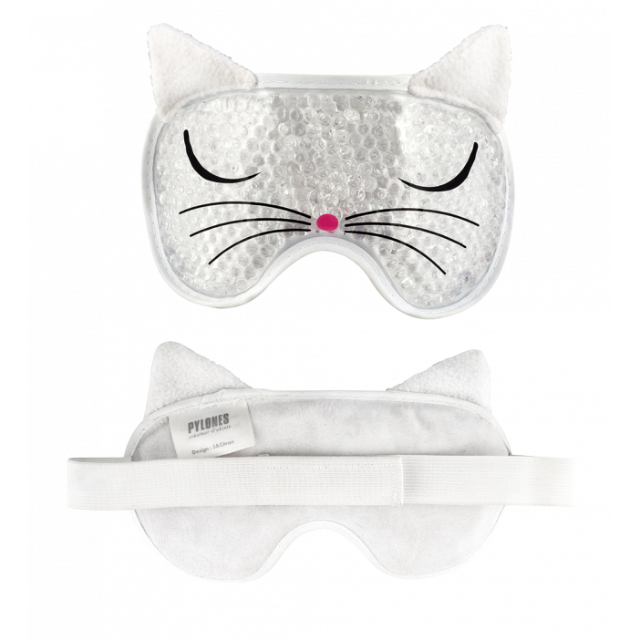 Mascherina per gli occhi - Cat my pearls White Cat