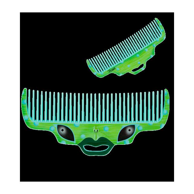 Guy - Comb Green