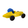 Balloon car - Speedy Yellow