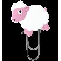 Kleines Lesezeichen - Ani-smallmark Eiffelturm Rosa
