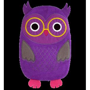 Wärmflasche - Hotly - Violett Eule