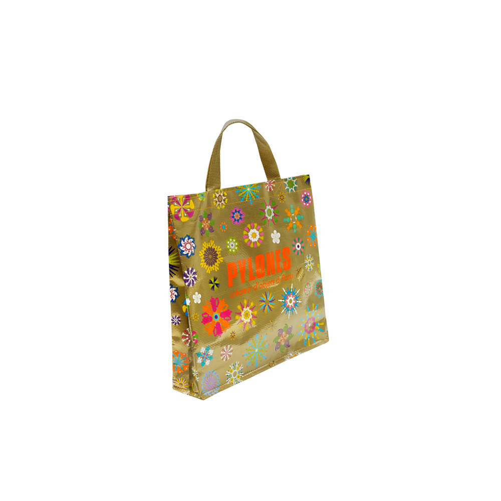 9514f543bd Pylones Shopping bag Gold - Pylones