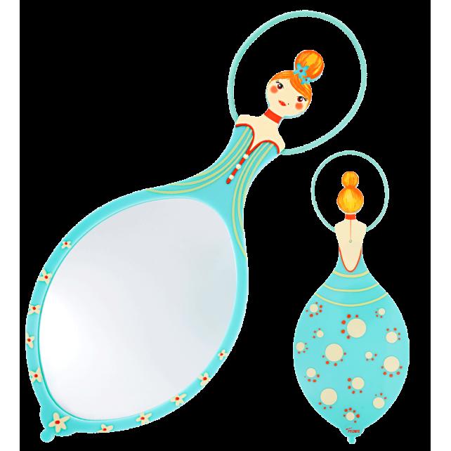 Glam Glam - Miroir face à main Blau