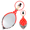 Glam Glam - Miroir face à main Rot