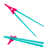 Pink / Turquoise