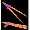Violet / Orange