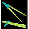 Turquoise / Vert