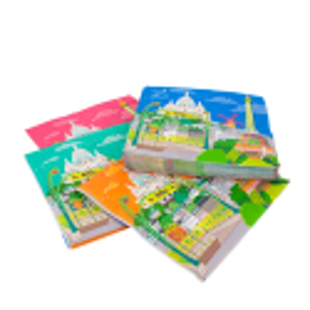 Belle Fête - Confezione da 20 tovaglioli di carta