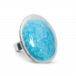 Galet Giga Paillettes Colors - Glass ring