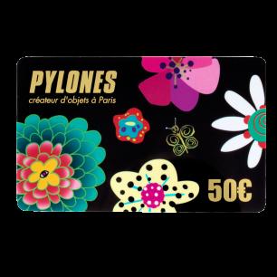Gift Card Pylones 50 €