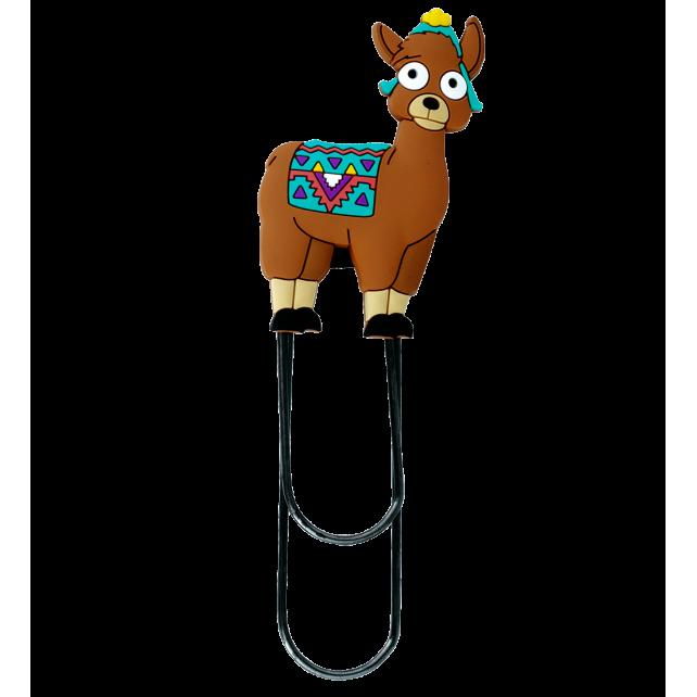 Segnapagina modello grande - Ani-bigmark Lama