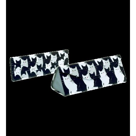 Hard glasses case - Fold Case Dahlia