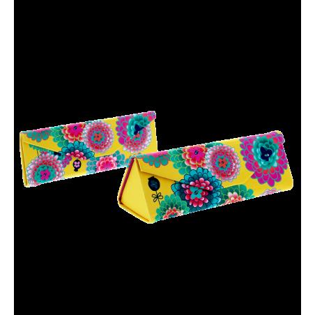 Etui à lunettes pliable - Fold Case Dahlia