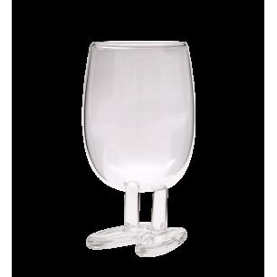 Mundgeblasenes Glas - Verre à Pieds