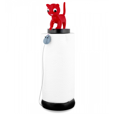 Kitchen roll dispenser - Charoule - Red