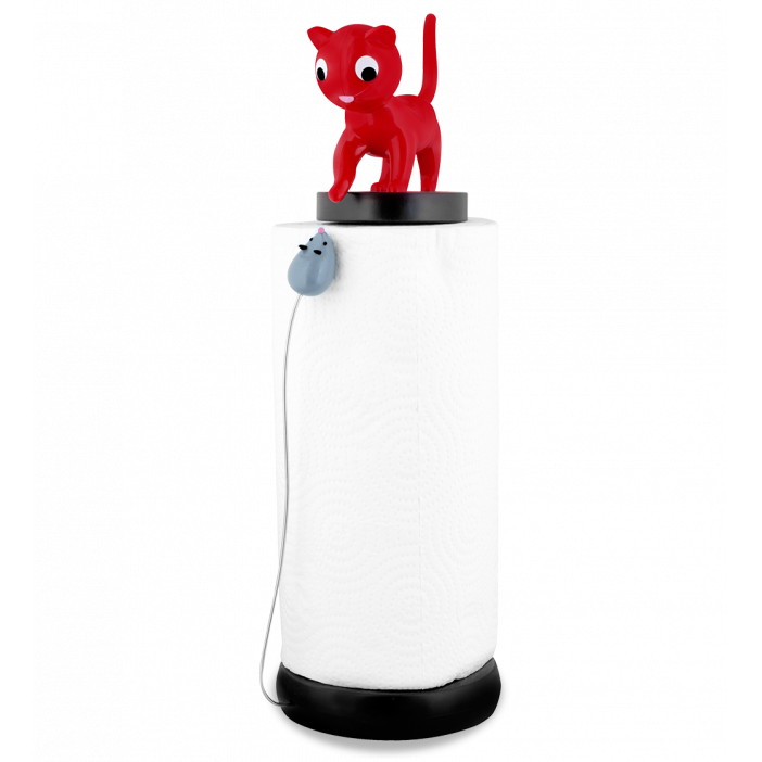 Kitchen roll dispenser - Charoule Red
