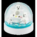 Schneekugel - Blizzard Bär
