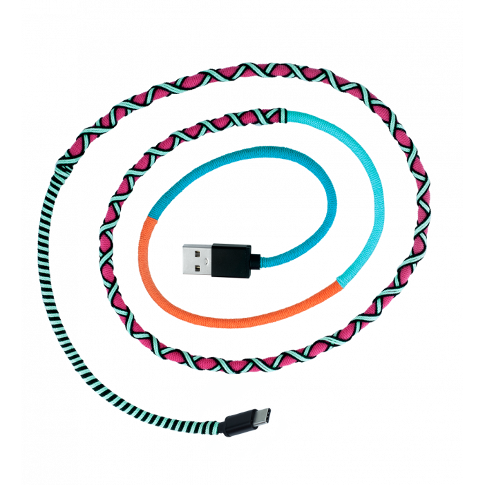 USB Type C Cable - Salsa