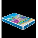 Batteria portatile 5000mAh - Get The Power 2 Orchid Blue